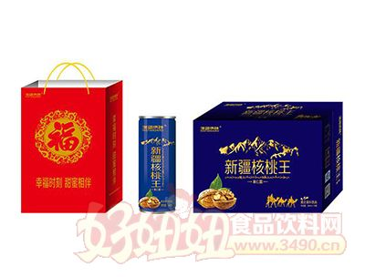海蓝诗顿新疆核桃王蛋白饮品礼盒