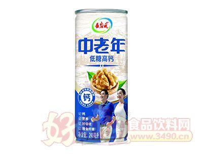 五谷风中老年低糖高钙复合植物蛋白饮料240ml