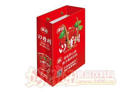 津君山楂树野山楂汁手提袋