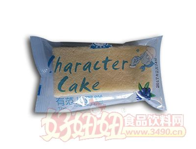 范老大有范儿蛋糕蓝莓味