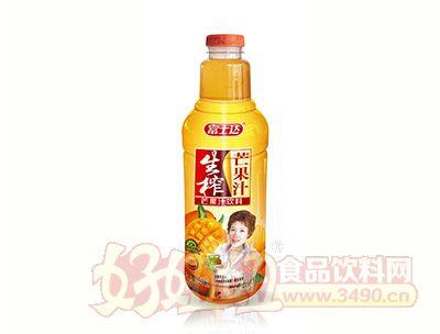 富士达生榨芒果汁1.5L