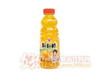 富士达粒粒橙饮料600ml