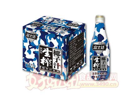 富士达生榨椰子汁1.25L×6瓶