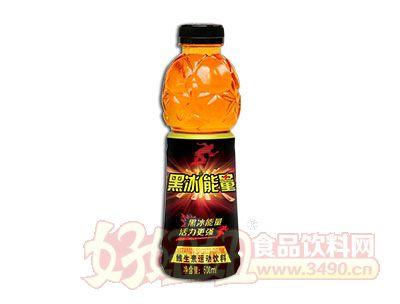 惠康黑冰能量维生素饮料600ml