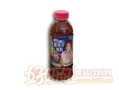 惠康蓝莓汁饮料600ml