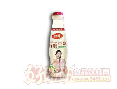 致奇石磨豆奶330ml