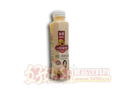 致奇木瓜香浓牛奶500ml