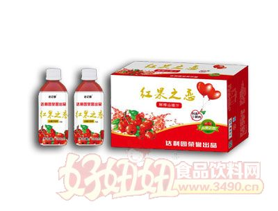 红果之恋山楂汁饮料280ml