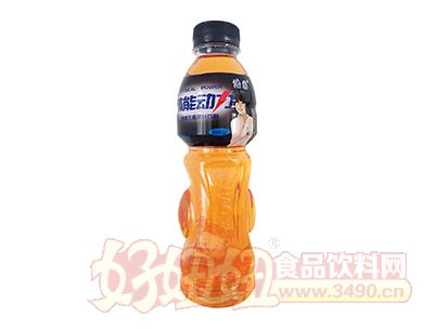 浩园体能动力新维生素果汁饮料强化能量型600ml