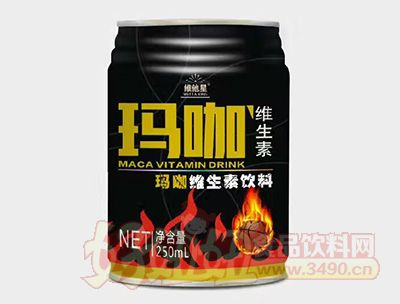 维他星玛咖功能饮料250mlx24罐