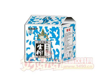 晨铭生榨果肉椰子汁1.25L×6瓶