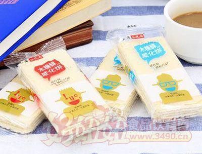 上海谷悦园木糖醇威化饼称重