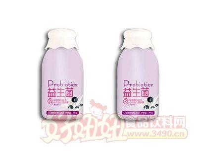 福淋益生菌发酵型含乳饮品蓝莓味380g