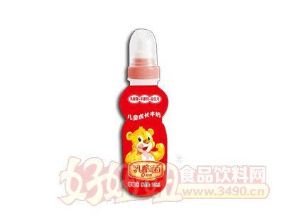 康发儿童成长牛奶乳酸菌草莓味200ml