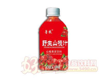 鲁牧野生山楂汁饮料280ml