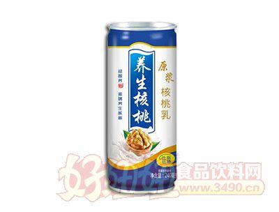 康发养生核桃原浆核桃乳250ml