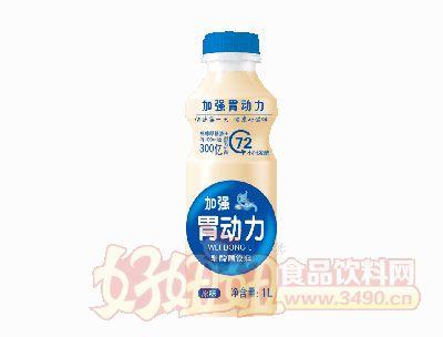 康发加强胃动力乳酸菌饮料原味1L