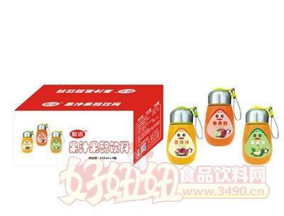 酷诺果汁果醋饮料450mlx8瓶