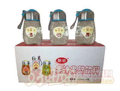 酷诺荔枝汁450mlx8瓶