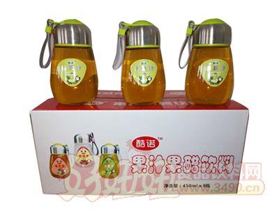 酷诺苹果汁450mlx8瓶