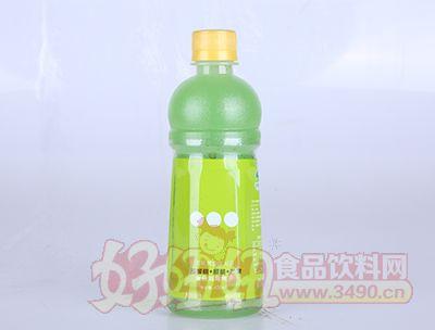 淇果庄园猕猴桃樱桃苹果复合鸡尾果汁420ml