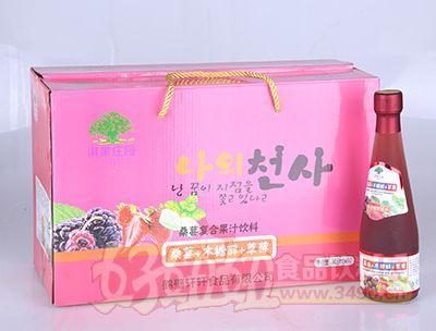 淇果庄园桑葚木糖醇草莓308ml×10瓶