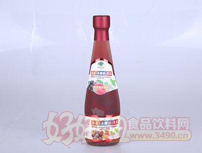 淇果庄园桑葚木糖醇草莓308ml