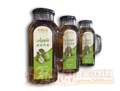 植物印象鲜榨苹果汁1L