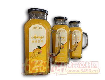 植物印象鲜榨芒果汁1L