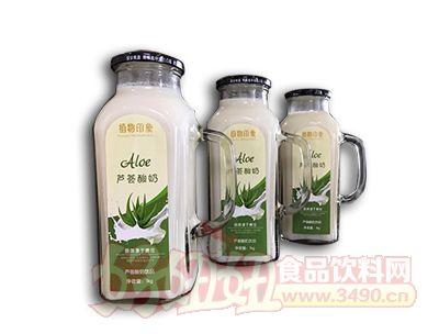 植物芦荟酸奶1L