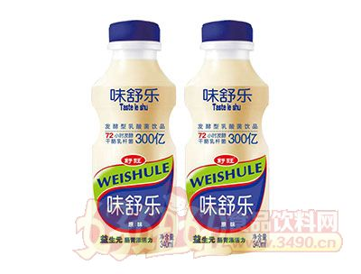 舒旺胃舒乐原味发酵型乳酸菌饮品340ml