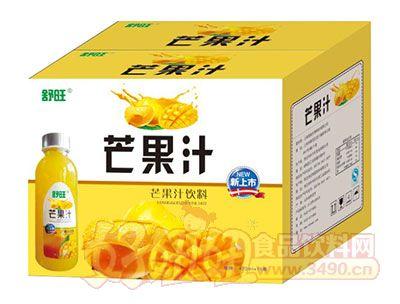 舒旺芒果汁饮料420ml×15瓶