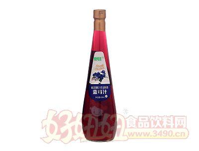 舒旺蓝莓汁饮料838ml