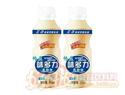 畅益味多力原味乳酸菌饮品340ml