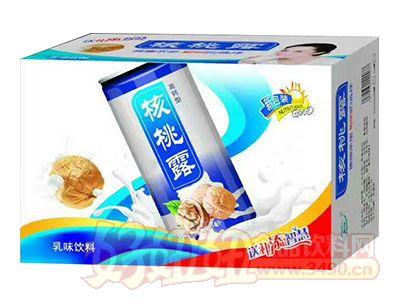 高钙型核桃露乳味饮料箱装