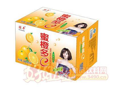 旺丰蜜橙多风味饮料500ml×15瓶