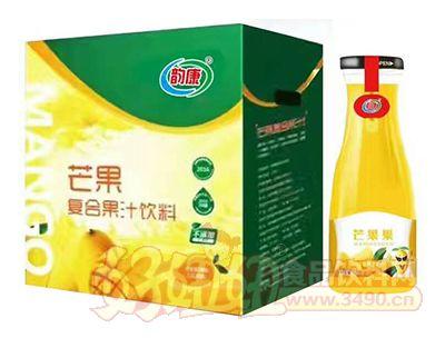 韵康芒果复合果汁饮料1.5L×6瓶