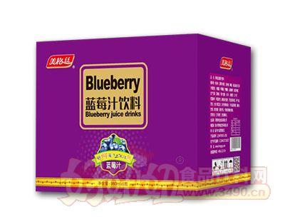 美格丝蓝莓汁饮料980ml*6瓶