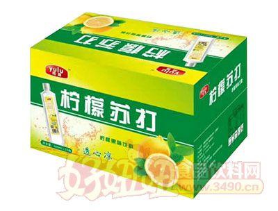 雨露柠檬苏打饮料