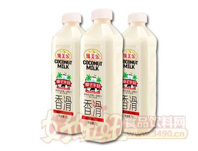 臻美乐香滑椰子牛奶1L