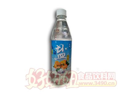 晨铭盐汽水柠檬味600ml