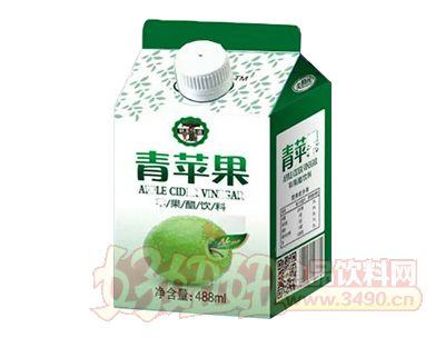 美格丝青苹果苹果醋饮料488ml