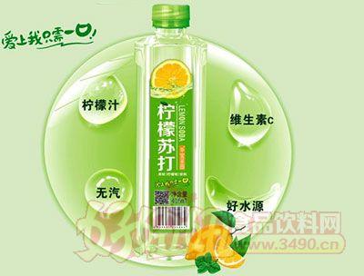 华宝柠檬苏打500ml