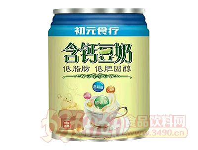 初元食疗含钙豆奶