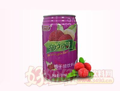 富士达梅子醋饮料310ml
