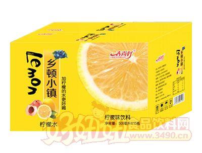 春尚好乡顿小镇柠檬味水饮料500ml×15瓶