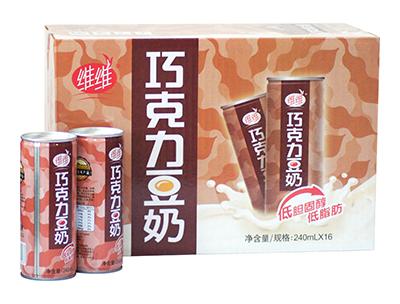 维维巧克力豆奶(铁罐)240mlx16