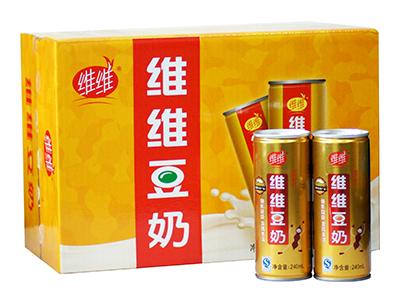 维维金罐豆奶(铁罐)240mlx16