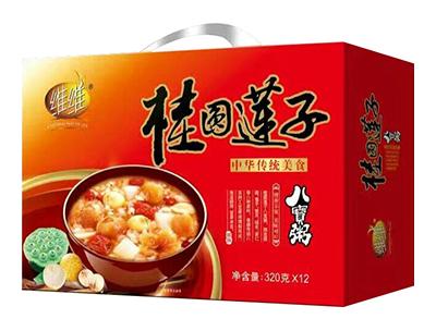 维维桂圆莲子八宝粥320g×12(×10/×8)