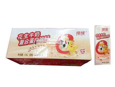 维维花生牛奶复合蛋白饮品250ml×18